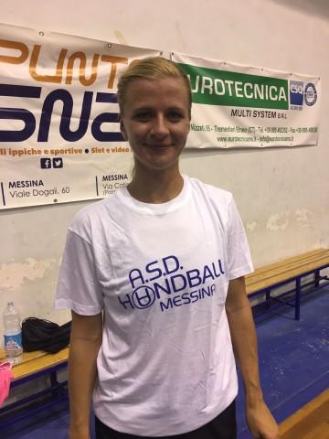 Handball Messina, arriva la tedesca Nieswand
