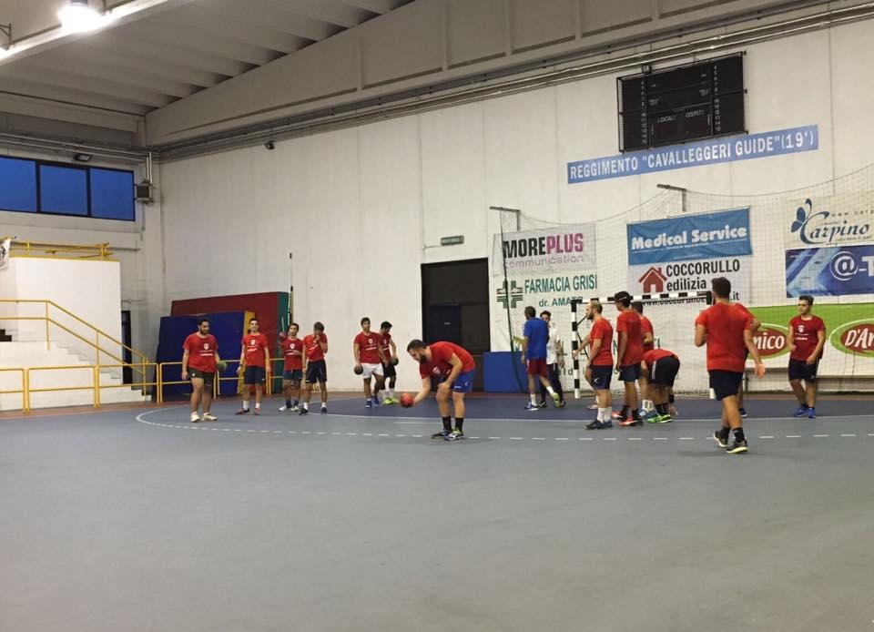 Handball Lanzara, prosegue a ritmi serrati la preparazione