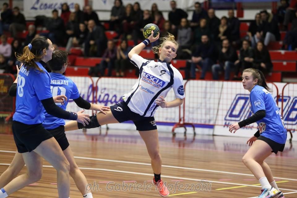 Leonessa Brescia, salvezza vicina - HandballTime - Lo ...