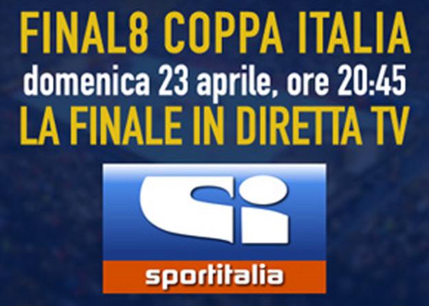 Coppa Italia maschile, Fasano-Bolzano in diretta su Sportitalia