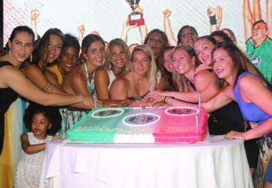 La Jomi Salerno festeggia lo Scudetto