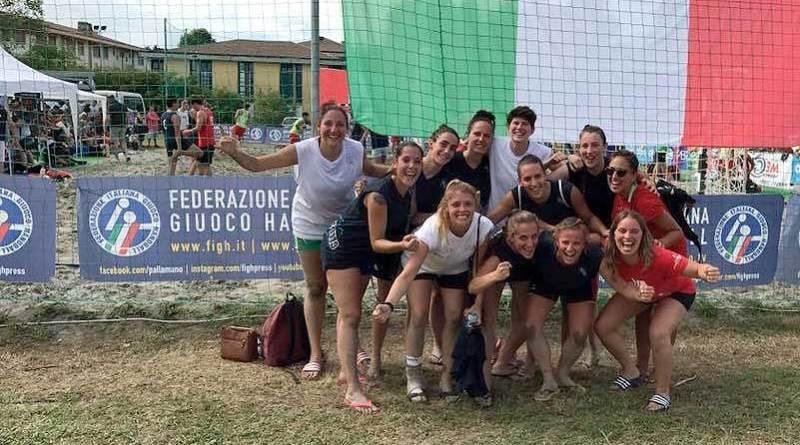 Dossobuono Terzo-posto-campionato-italiano-beach-handball-2017