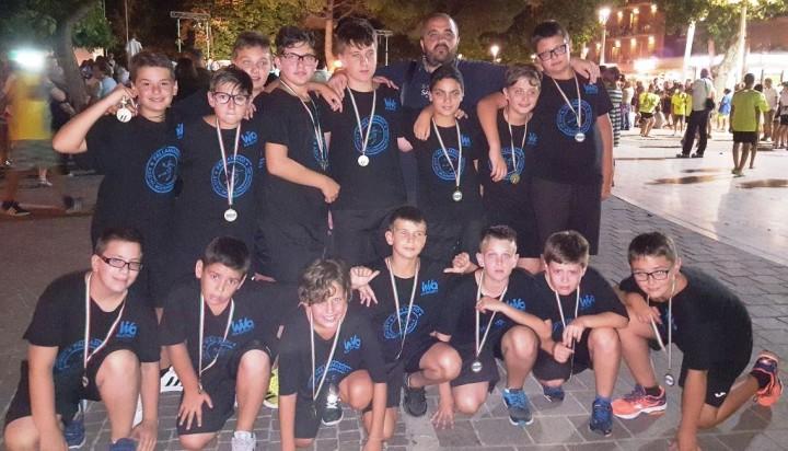 Foto di gruppo Under 12 Monteprandone