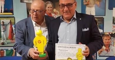"""Premio """"Gogòl"""", il presidente Loria diventa Ambasciatore del Sorriso"""