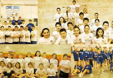 Pdo Scuola di Handball & Onmic insieme per beneficenza