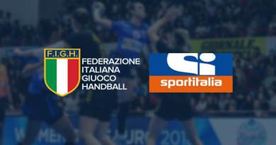 Accordo con la Figh, la grande pallamano italiana sbarca su Sportitalia