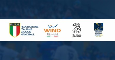 Wind Tre partner commerciale della FIGH per l'International Handball Challenge
