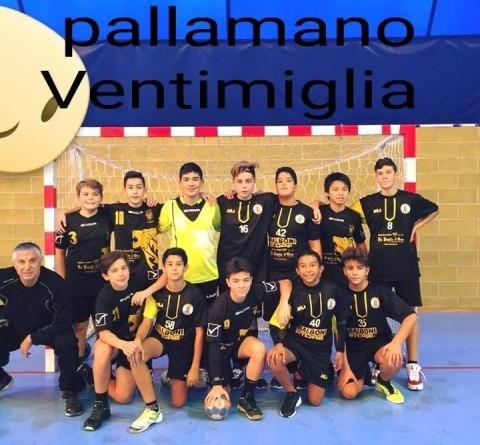 Pallamano Ventimiglia Under 15