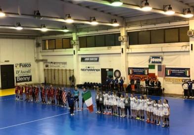 Appuntamento internazionale alla Palumbo, nuova amichevole tra Italia ed USA