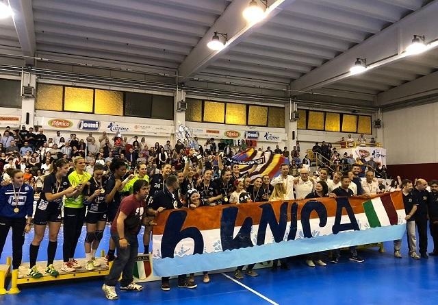 Jomi Salerno Campione d'Italia