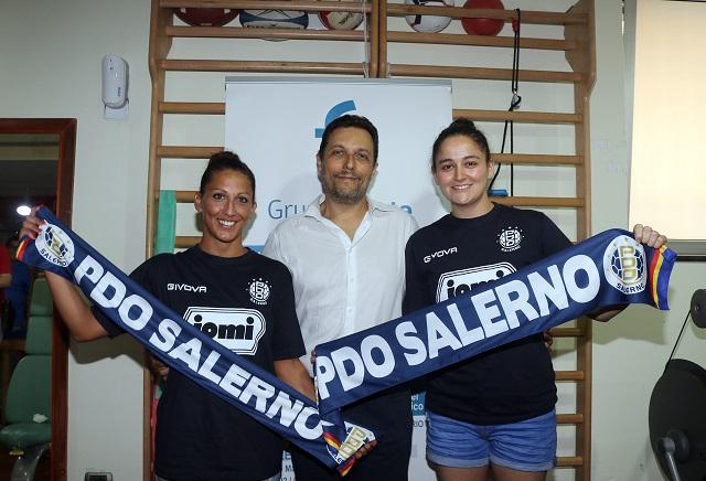 """Jomi Salerno, Piantini ed Oliveri: """"Felici di essere qui"""""""
