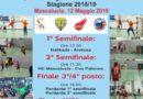DOMENICA 12 MAGGIO FINALE REGIONALE UNDER 17 MASCHILE AL PALA WAGNER DI MASCALUCIA