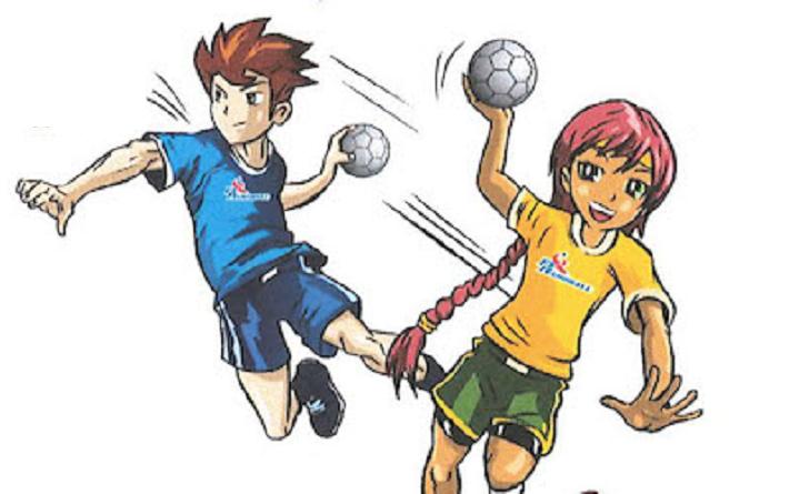 young handballer