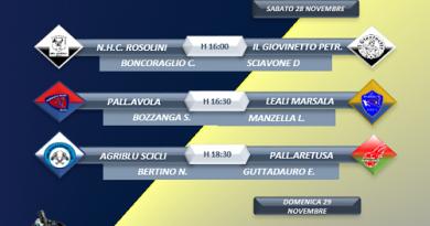 Serie B Decò, squadre in campo per la quarta giornata