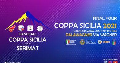 L'azienda Serimat sponsorizza la Coppa Sicilia di serie B maschile