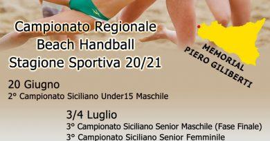 All'AC Life Style Beach il 2^ Campionato Regionale Federale di Beach Handball under 15 Maschile
