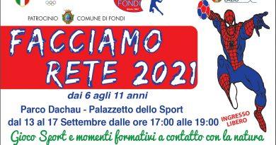 FACCIAMO RETE 2021, IL PROGETTO HC FONDI PER I PICCOLISSIMI